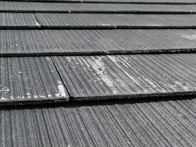 劣化し始めたスレート屋根