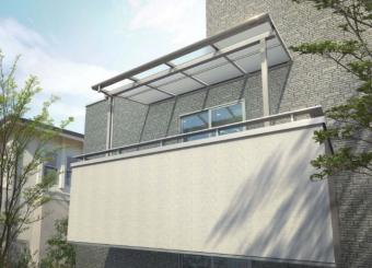 ソラリアバルコニー屋根