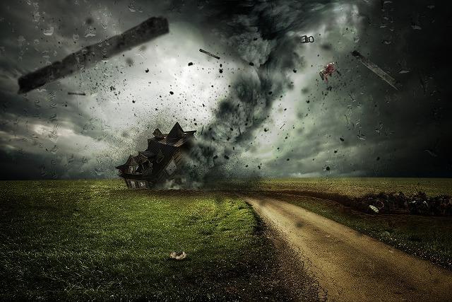 最近の台風イメージ