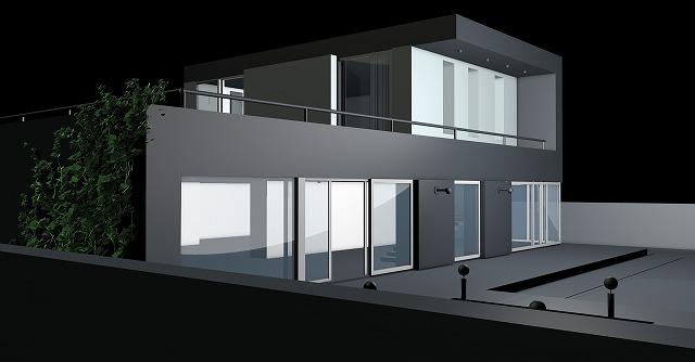 住宅3Dイメージ図