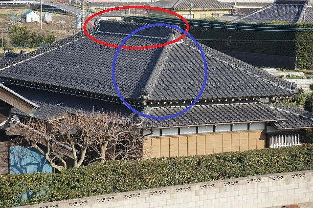寄棟屋根のイメージ写真