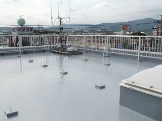 豊川市の事務所コンクリ―ト屋根防水工事アフター