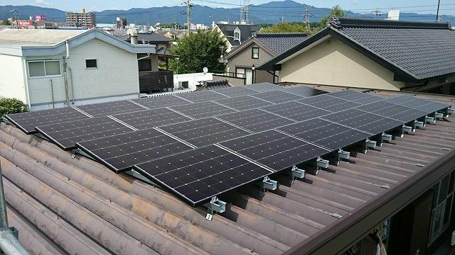 太陽電池設置