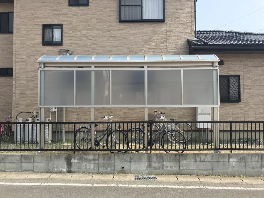 テラス屋根 自転車置き場