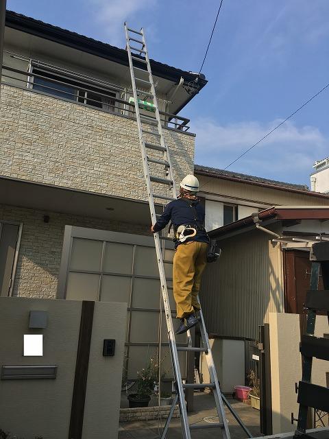 太陽光現地調査と住宅周辺確認