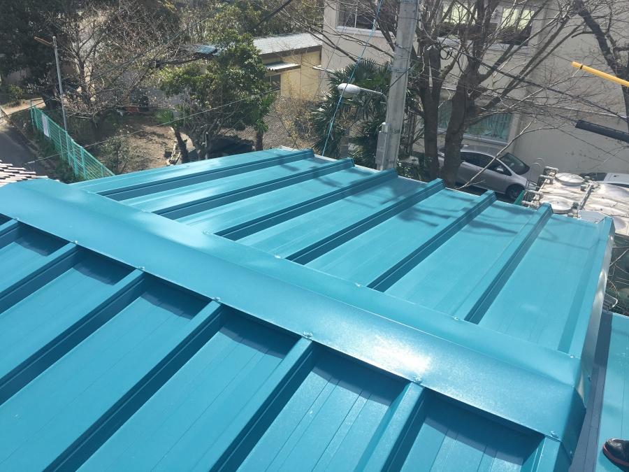 豊橋市でつかみ金具工法の太陽光パネル導入の工事をしました