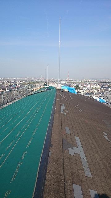 屋根の張替工事イメージ