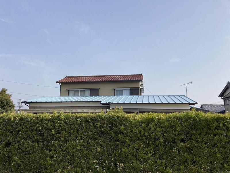 施工前 屋根塗装