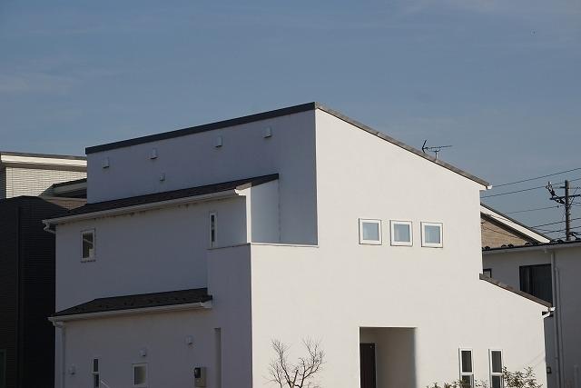 片流れ屋根のイメージ写真