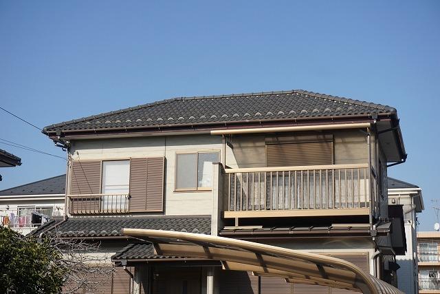二階建て住宅外観